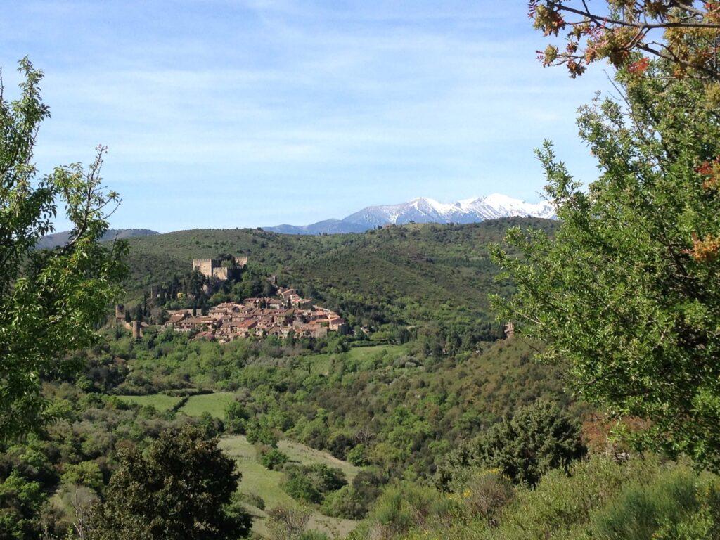 Castelnou-Canigou-bjerge