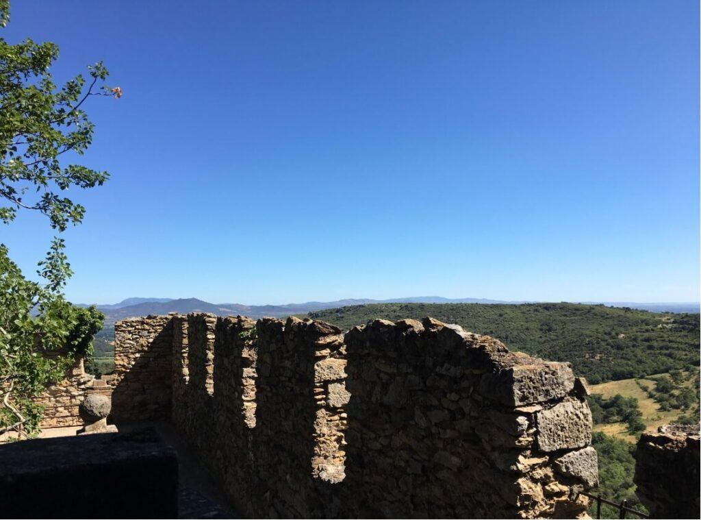 Castelnou-udsigt