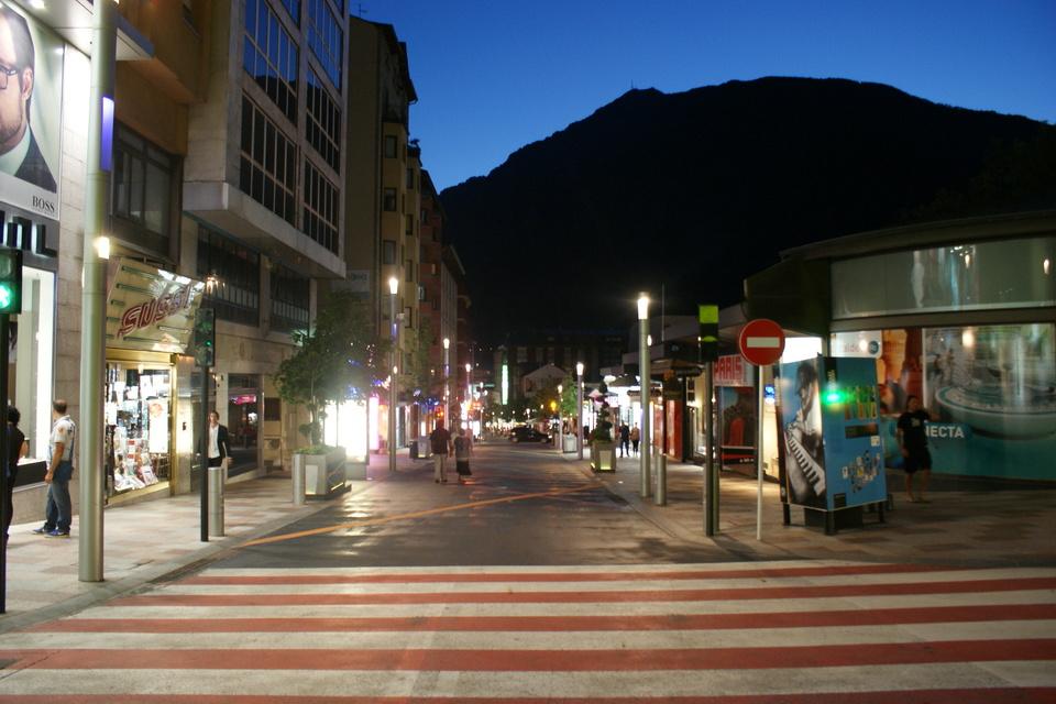 Andorra by night