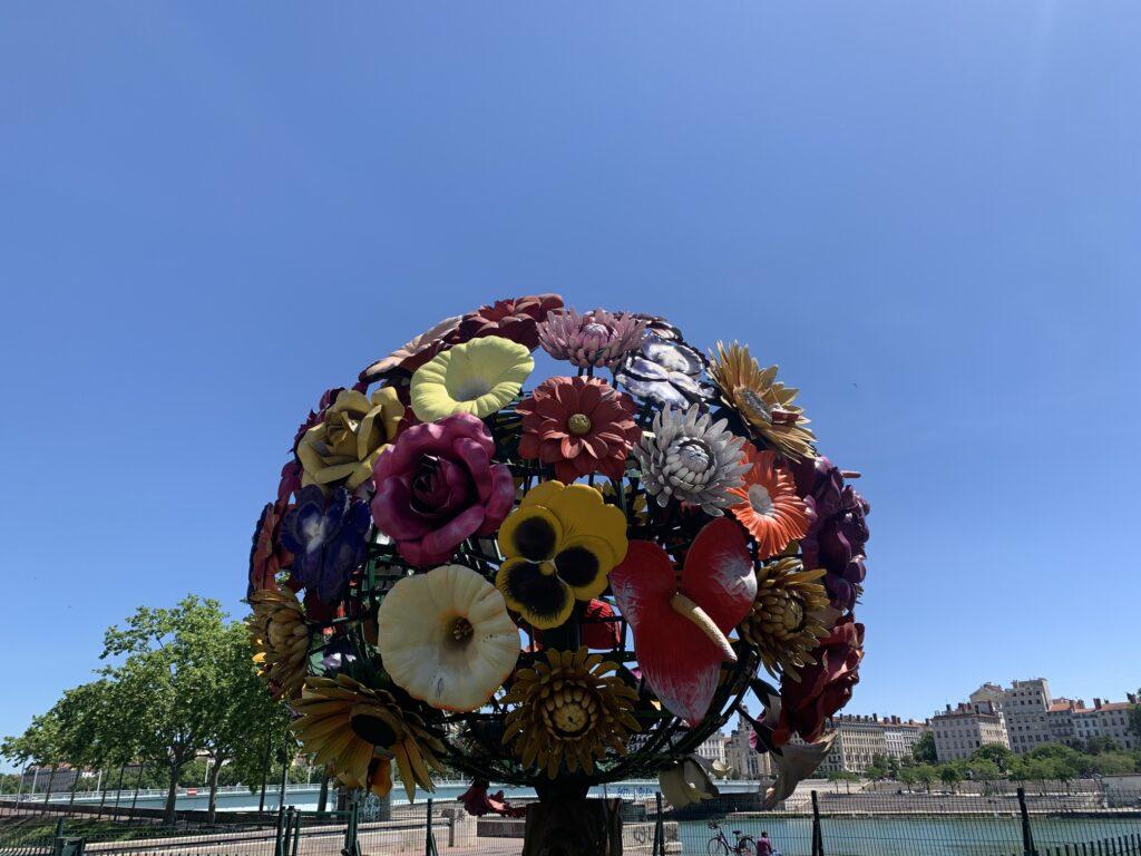 Blomstertræ i Lyon