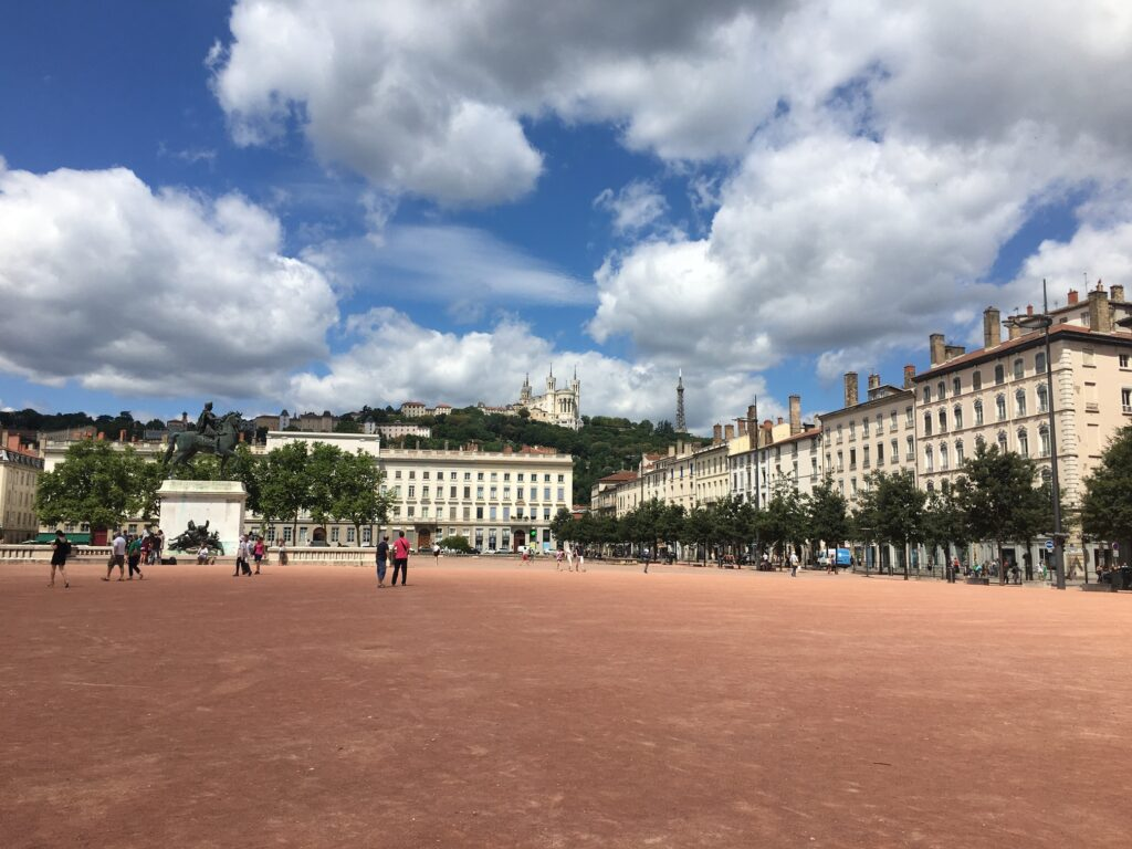 Lyon, bellecour, Fourvière