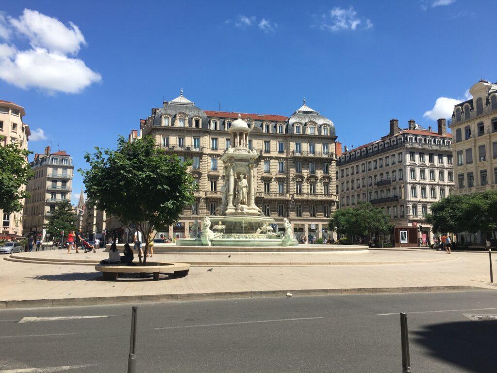 Place des Jacobins i Lyon