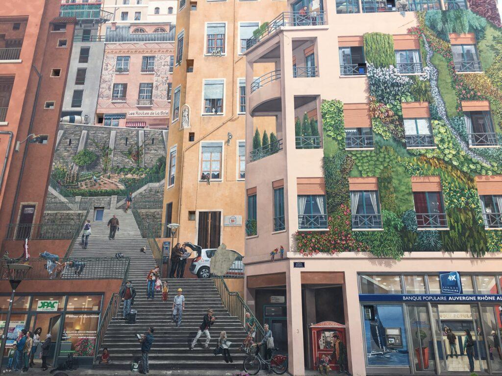 Mur des Canuts i Lyon